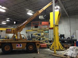 Jib Crane installation